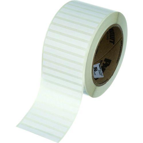 トラスコ中山 パンドウイット 熱転写プリンター用ラベル ポリエステル 白 サイズ50.8mmx9.5mm 5000枚入り C200X038YJT tr-1373808