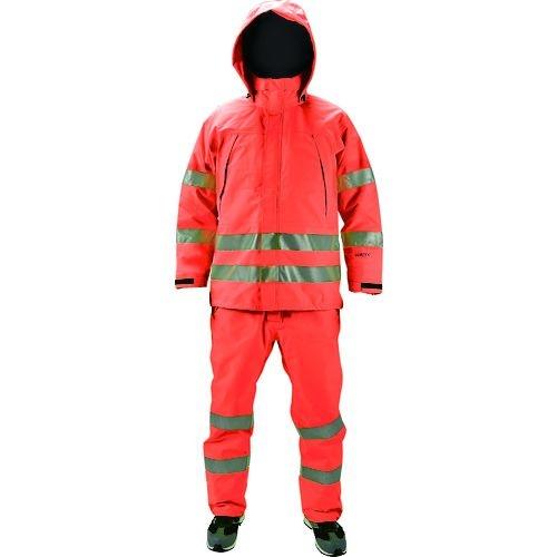 トラスコ中山 TRUSCO ゴアテックス高視認制電レインパンツ オレンジ S tr-1611811