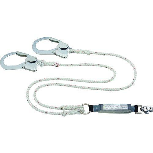トラスコ中山 タイタン ロープ式 タイプ1ランヤード ダブル (墜落制止用器具) tr-1605572