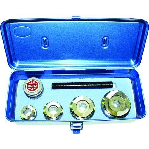 トラスコ中山 西田 電線管用チャッカー 薄鋼電線管刃物用セット tr-1613208