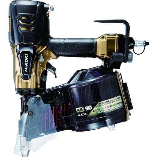 トラスコ中山 HiKOKI 高圧ロール釘打機90mmハイゴールド パワー切替機構付 tr-1590136