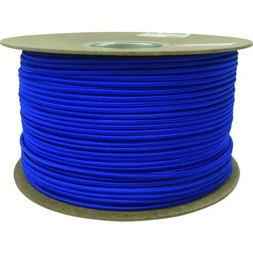 トラスコ中山 ユタカメイク タイトゴムロープドラム巻 4.5mm×200m ブルー tr-1613335