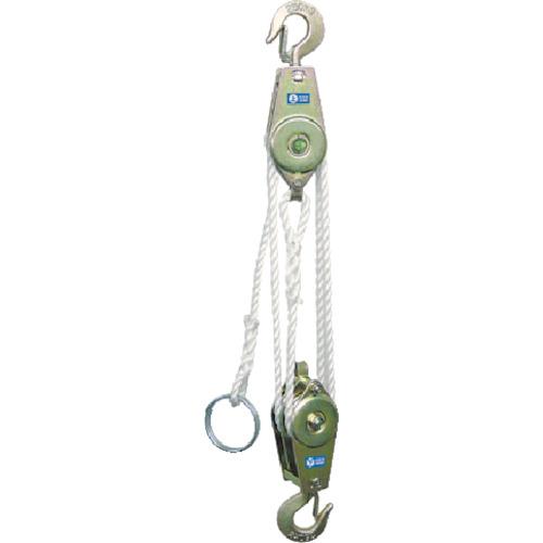 トラスコ中山 HHH ロープホイスト 250kg 揚程3m tr-8087465