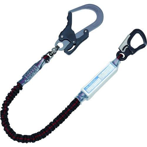 トラスコ中山 KH ジャバラ剣アルミ自在小フック17黒/緋ライン tr-1675602