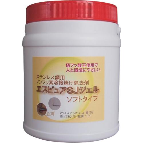 トラスコ中山 佐々木化学 ステンレス溶接焼け除去剤 エスピュアSJジェル(低粘度タイプ)1kg tr-1343512