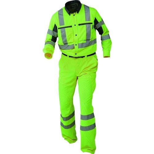 トラスコ中山 BT スーパークールサマーシャツ イエロー 3Lサイズ tr-1609312