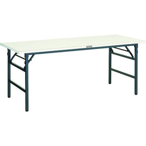 トラスコ中山 TRUSCO UFL型折畳型作業台 1500X600XH740 DG色 tr-1607795