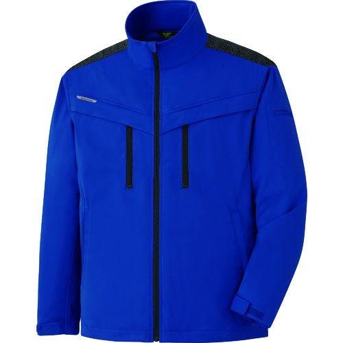 トラスコ中山 ミドリ安全 VERDEXCEL ストレッチ防寒ジャンパー VE2003 上 ロイヤルブルー 4L tr-1493562