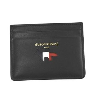 その他 MAISON KITSUNE(メゾンキツネ) カードケース AU05305LC0003 BK BLACK ds-2277967
