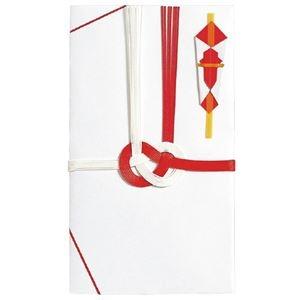 その他 (まとめ)マルアイ 祝金封 赤白7本斜折 5枚パック(×50セット) ds-2276143