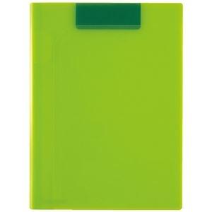 その他 (まとめ)セキセイ クリップファイルA4 ライトグリーン ACT-5924-33(×20セット) ds-2276190