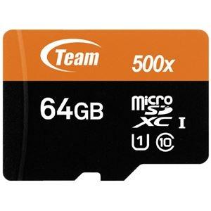 その他 (まとめ)TEAM microSDXCカード 64GB TUSDX64GUHS03(×5セット) ds-2276776