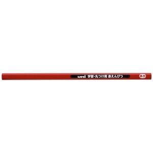 その他 (まとめ)三菱鉛筆 学習丸付け用赤鉛筆 12本入(×20セット) ds-2276887