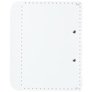 その他 (まとめ)プラス おりたためるA4クリップボード+ ホワイト(×50セット) ds-2278155
