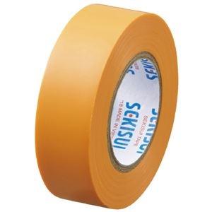 その他 (まとめ)セキスイ エスロンテープ #360 19mm×10m 橙 V360D1N(×300セット) ds-2278783
