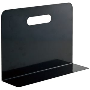 その他 (まとめ)LIHITLAB ブックエンド・タイプ A7352-24 黒(×30セット) ds-2278820