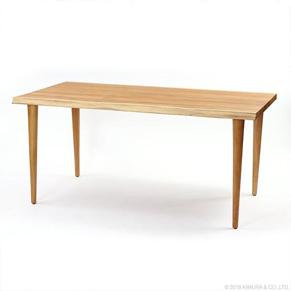 ラタンワールド IDENTITY チーク ダイニングテーブル 160cm幅 (WX) T346WX