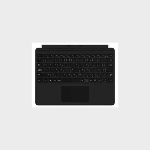 マイクロソフト SurfaceProXキーボード日本語マイクロソフト ブラック QJW00019【納期目安:1週間】