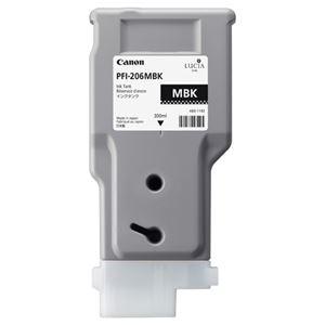 その他 (まとめ) キヤノン Canon インクタンク PFI-206 顔料マットブラック 300ml 5302B001 1個 【×5セット】 ds-2222600
