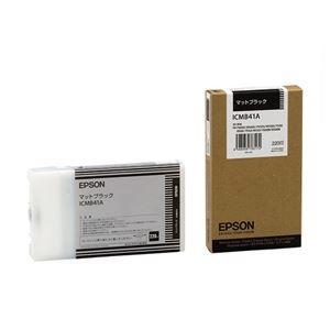 その他 (まとめ) エプソン EPSON PX-Pインクカートリッジ マットブラック 220ml ICMB41A 1個 【×10セット】 ds-2229944
