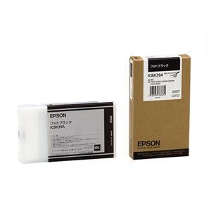 その他 (まとめ) エプソン EPSON PX-P/K3インクカートリッジ フォトブラック 220ml ICBK39A 1個 【×10セット】 ds-2229957