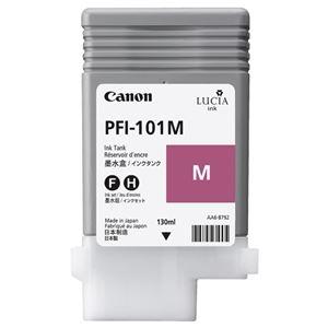 その他 (まとめ) キヤノン Canon インクタンク PFI-101 顔料マゼンタ 130ml 0885B001 1個 【×10セット】 ds-2230561