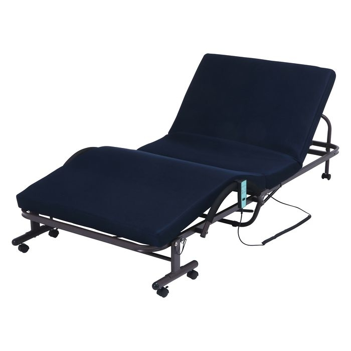 不二貿易 折たたみ電動ベッド FU-05-5-42 FJ-14744