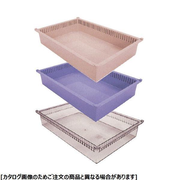 サカセ化学工業 プラスチックトレー(64-10タイプ) PT64-10 ニュートラル 01-2547-01【納期目安:1週間】