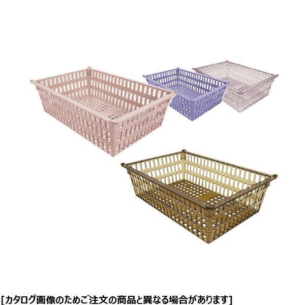 サカセ化学工業 プラスチックバスケット(64-17タイプ) PB64-17 ニュートラル 01-2547-06【納期目安:1週間】