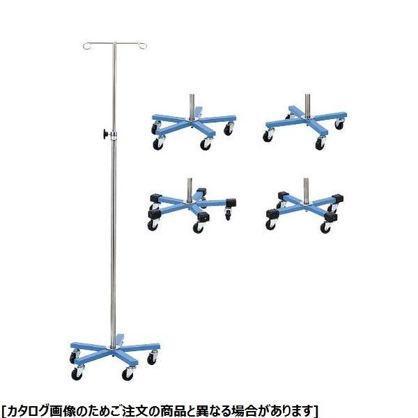 松吉医科器械 マイスコカラーガートル台(青) MY-150BN-A 5脚 01-4836-00