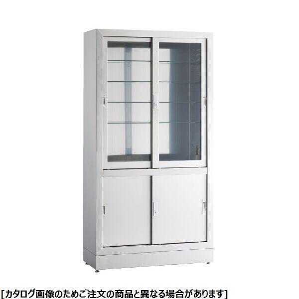 松吉医科器械 器械戸棚 KS-1212NG 23-5384-0102【納期目安:1週間】