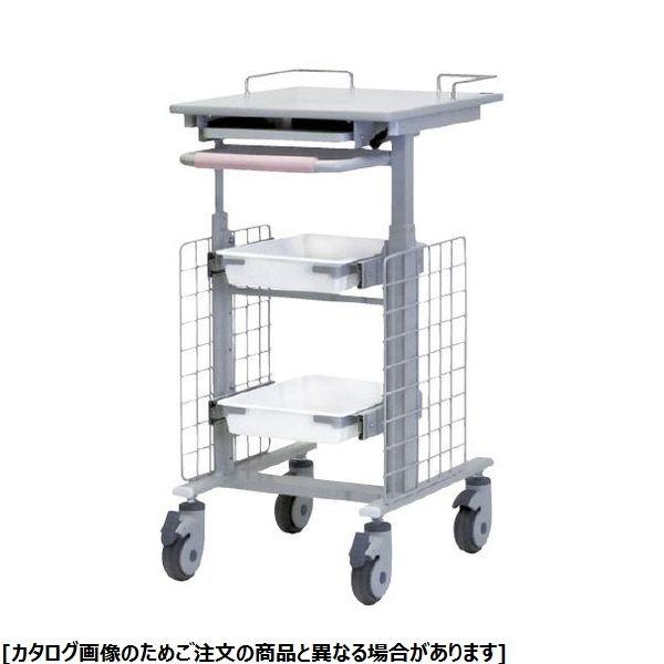 ナカバヤシ 電子カルテワゴン(昇降式) RKW-402S 24-2438-00【納期目安:1週間】
