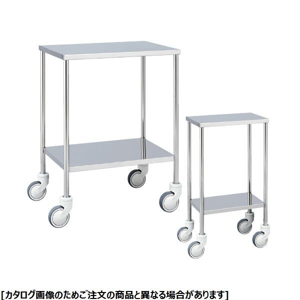 松吉医科器械 抗菌ステンレス器械台 MY-IW105 24-2502-00【納期目安:1週間】