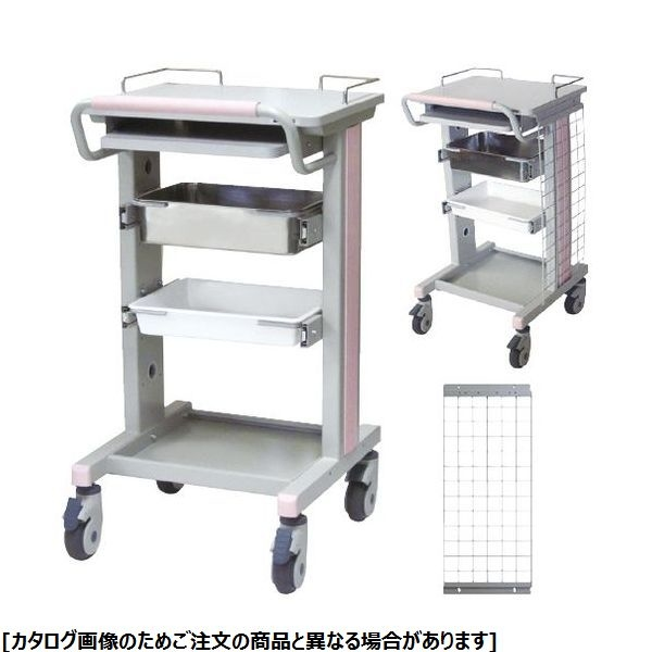 ナカバヤシ 電子カルテワゴン RKW-303 24-3577-00【納期目安:1週間】