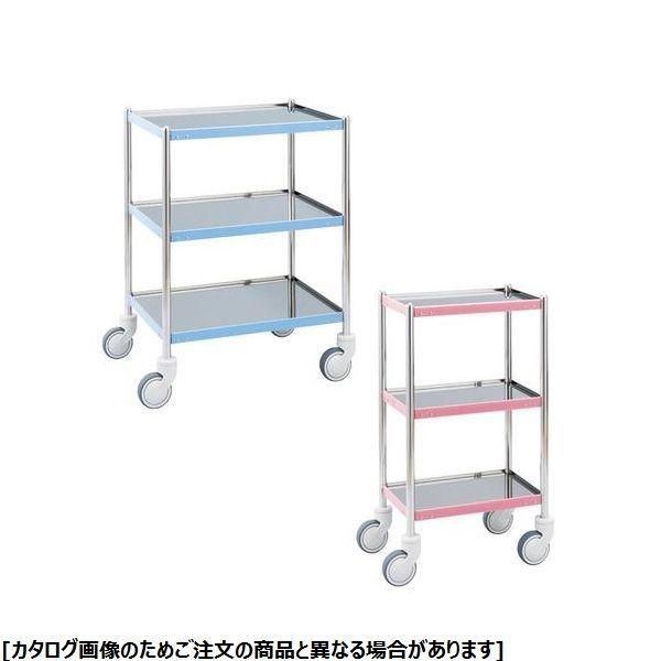 松吉医科器械 カラーライン器械台 MY-CL115P ピンク 24-6048-00【納期目安:1週間】