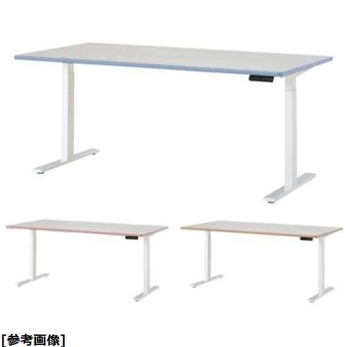 ニシキ工業 電動昇降型ナーステーブル DSK-1590K 天板エッジ ベージュ 24-7217-0103【納期目安:1週間】