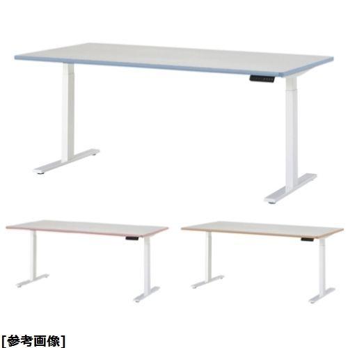 ニシキ工業 電動昇降型ナーステーブル DSK-2190K 天板エッジ ピンク 24-7217-0302【納期目安:1週間】