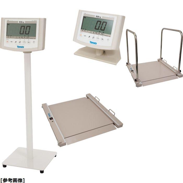 大和製衡 バリアフリー体重計 SMOOZER(検定品) DP-7500PW-S セパレート 24-7266-01【納期目安:1週間】