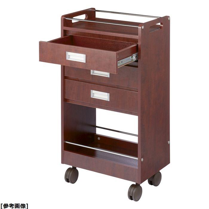 松吉医科器械 アプリワゴン 木製タイプ SN-AP018RW ローズウッド 24-7939-02【納期目安:1週間】