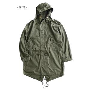 その他 アメリカ軍「M-51」青島ライナーモッズコートシェル リバイバルモデル オリーブ《Sサイズ(日本対応サイズXL相当)》 ds-2280034