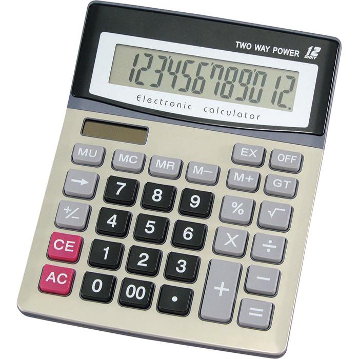 その他 【60個セット】DT-12 ワンツー電卓 4972940811342