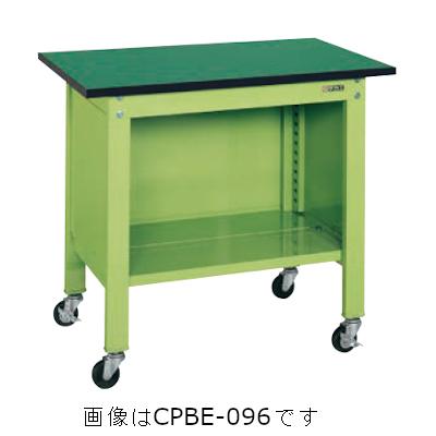 サカエ 軽量一人用作業台移動式(改正RoHS10物質対応) CPBE-126T