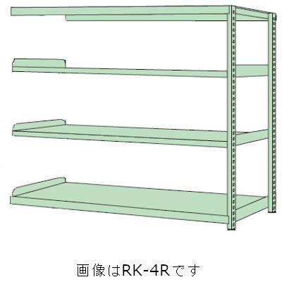 送料無料 売れ筋ランキング サカエ RKラック 連結 RKN-5754R 4段タイプ 均等耐荷重:250kg 返品不可 段