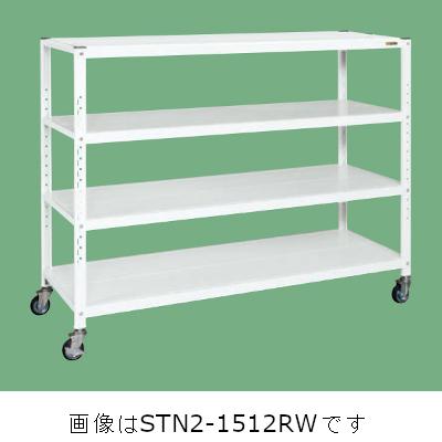 サカエ サカエキャスターラック(ゴム車) STN2-1212RW
