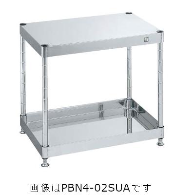 サカエ PBN-02SUA ステンレスニューパールワゴン(固定タイプ・SUS304)