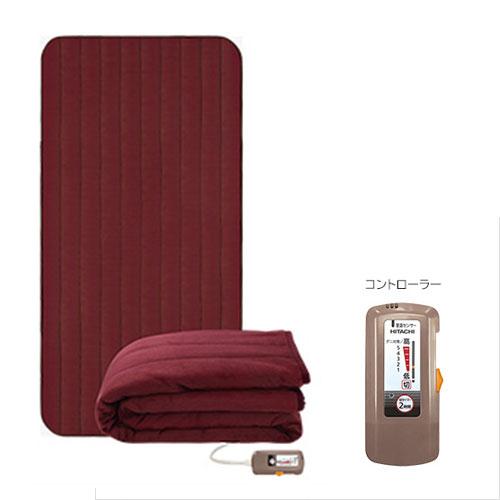 日立 電子コントロール毛布 敷毛布タイプ (約200×100cm) (シングルベッドサイズ) HLM-102MSRX
