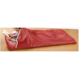 その他 寝具 もこもこ 毛布 付き ごろ寝 長座布団 2枚 ワイン【代引不可】 ds-2286829