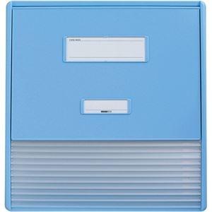 その他 リヒトラブ カラーカードインデックスA3(A4タテ2面)11ポケット ブルー HC113C-2 1冊 ds-2288927