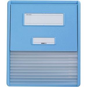その他 リヒトラブ カラーカードインデックスA4 11ポケット ブルー HC111C-2 1冊 ds-2288935