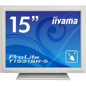その他 iiyama ProLite15型タッチパネル液晶ディスプレイ 抵抗膜タッチ方式 ピュアホワイト T1531SR-W5 1台 ds-2288972
